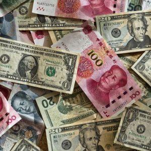 Billets de banque, budget voyage