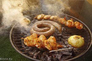 Braai, barbecus, Durban, Afrique du Sud