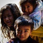 Enfants de Bhaktapur, Népal