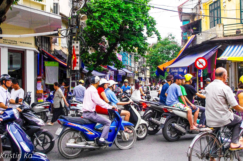 Hanoi, circulation, Vietnam
