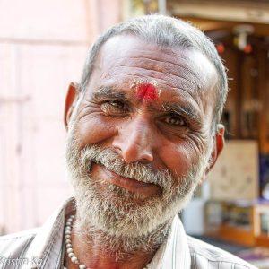 Hommes sourire, Bundi Inde