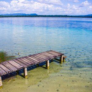 Laguna Lanchua, lac, Guatemala