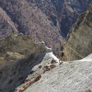Land Slide, vers tilicho, Nepal