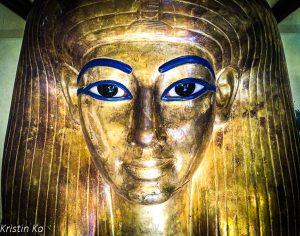 Sarcophage, Musée du Caire, Egypte
