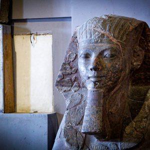 Sphinx en granit
