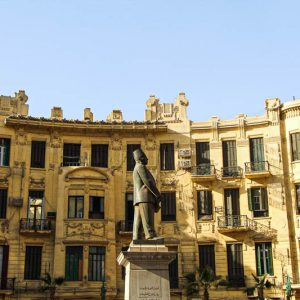 Talaat Harb square, le Caire, Egypte
