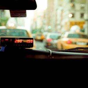 Taxi avec compteur