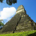 Tikal, temple maya, Guatemala