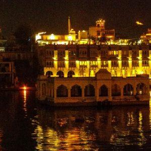 Udaïpur, la nuit, Inde