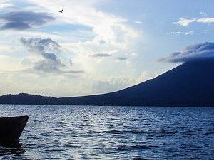 Volcan, bateau bandeau