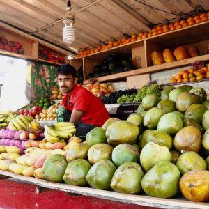 Fruits tropicaux, Asie