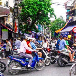 Hanoi, circulation, Vietnam