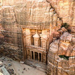 Khazneh, le trésor, Petra, Jordanie