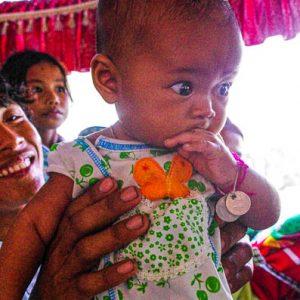 Petite fille du bus, Cambodge