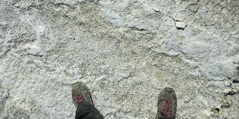 Pieds dans le sel, Salar, Uyuni, Bolivie