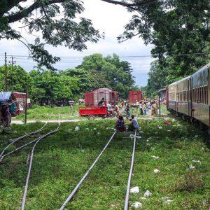 voie ferrée, Birmanie
