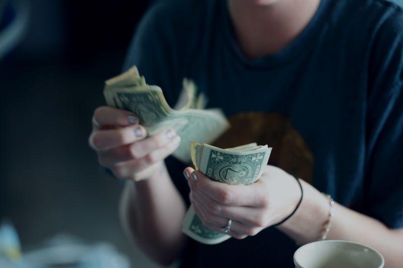 liasse de billets, argent